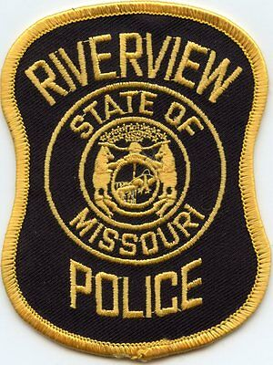 Riverview Missouri Mo Police Patch