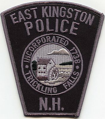 East Kingston New Hampshire Nh Police Patch