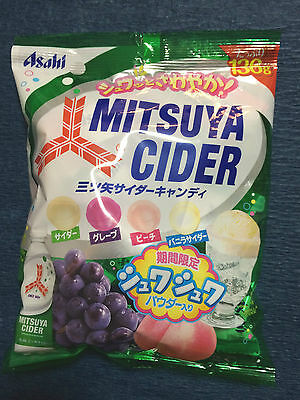 1 x bag Mitsuya Cider - Fruit Soda Flavoured Candy / Japanese Candies from Japan
