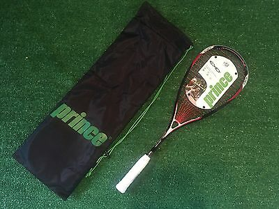 Prince EXO3 Red Squash Racquet NEW MSRP $149