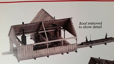 KMP Models O / On30 Scale Craftsman Logging Kit - Steam Sawmill with Planer -New