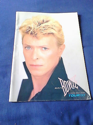 David Bowie Serious Moonlight 1983 Official Tour Book