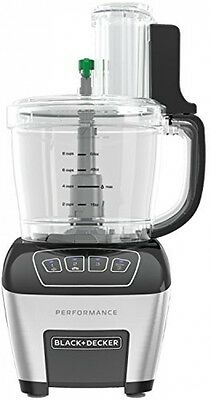 Black Decker  Cup Dicing And Slicing Performance Food Processor Fp