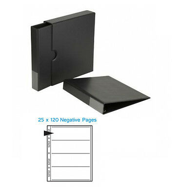 Kenro Negative Binder, Slipcase and 25 x 120 Negative Pages