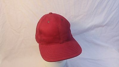 New Vintage & Unique Red Wine Mac Daddy Style Hat Adjustable (Mdy1)