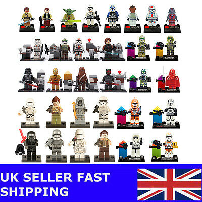 32 PCS STAR WARS Series Clone Wars Trooper Minifigures Building Toys Fits Lego