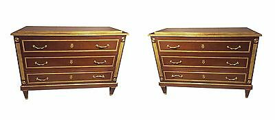 Pair of Neoclassical Style Commodes 101-307
