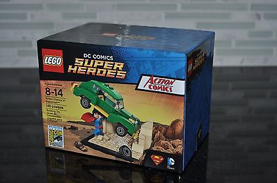 Lego Sdcc Comic Con 2015 Action Comics #1 Superman #521 New Sealed Box Authentic