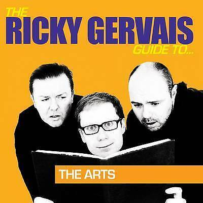 THE RICKY GERVAIS GUIDE TO... The Arts NEW CD Best-selling Comedy Audio