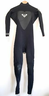 Roxy Womens Full Wetsuit Syncro 4:3 Ladies Size 4
