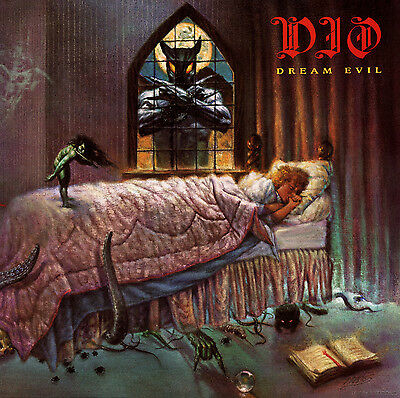 DIO - Dream Evil Album Cover Art Print Poster 12 x 12