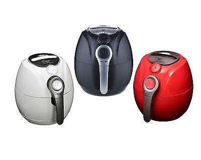 Kitchen Chef 3.5L Air Fryer Healthy Rapid Cooker Low Fat Oil Free