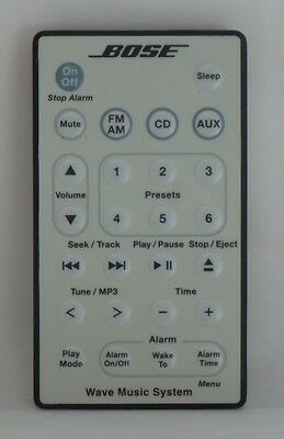 Bose Acoustic Wave Music System Remote White (35554)