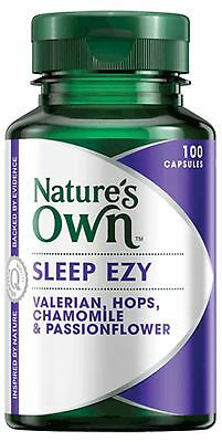 NATURE'S OWN SLEEP EZY 100 Capsules INSOMNIA AND SLEEP MANAGEMENT