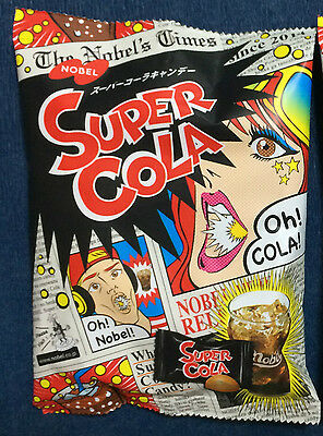 1 x pack Super COLA Candy - Nobels Japan - Japanese Lollies / Candies