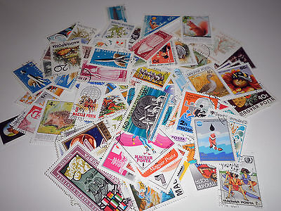 Hungary 128 Different Stamps Used Lot (Cat.x)