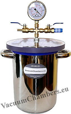16CM x 21CM Vacuum Chamber 4.2L Degassing High Quality 1 Year Warranty
