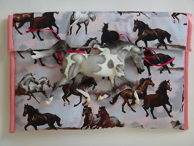 Protective & Exquisite Traditional POUCH for Breyer/Peter Stone Model Horses!