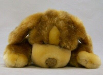 """Animal Alley SMALL Darby Brown Dog plush 7 1/2"""" long SOFT  ADORABLE!  puppy"""