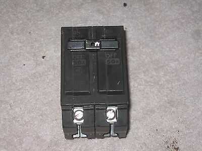 GE THQL2150 Circuit Breaker, 50 AMP, 2 pole, 120/240VAC NEW STYLE