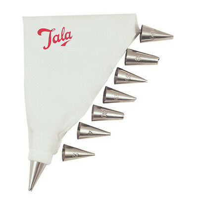 Tala Icing Bag Set 8 Nozzles 4/48 - SAME DAY DISPATCH