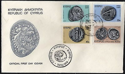 Cyprus - #386-89(4) - FDC