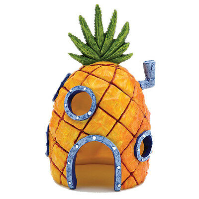 "6.5"" tall spongebob's pineapple house fish tank ornament - SAME DAY DISPATCH"