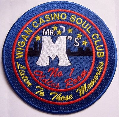 Northern Soul Patch - Wigan Casino - Mr M's Oldies Room