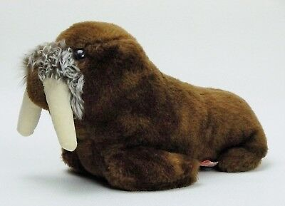 Vintage DAKIN plush WALRUS stuffed animal Ground Nutshells EXCELLENT