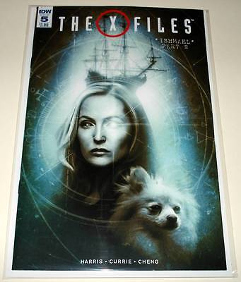 The X FILES # 5 IDW Comic  August 2016  NM