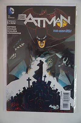 BATMAN #34 (2014) DC New 52 SNYDER *MORE IN STORE*