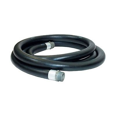 """Apache 98108468 3/4"""" x 20' Farm Fuel Transfer Hose Male x Male Assembly with Sta"""
