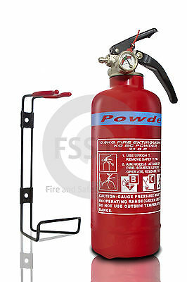 NEW PRODUCT! 600g ABC Powder Fire Extinguisher 21B BOAT CAR HOME WORK.KITEMARKED