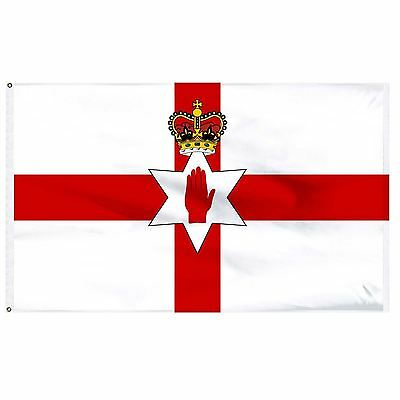 Northern Ireland National Flag 5ft x 3ft Polyester Country Flag Party Decoration