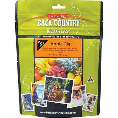 Backcountry Cuisine Freeze Dried Food - 2S, Apple Pie