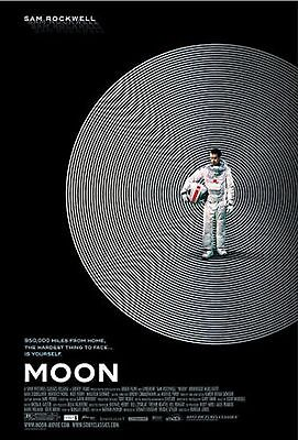 Moon Movie POSTER (2009) Sci-Fiction/Drama