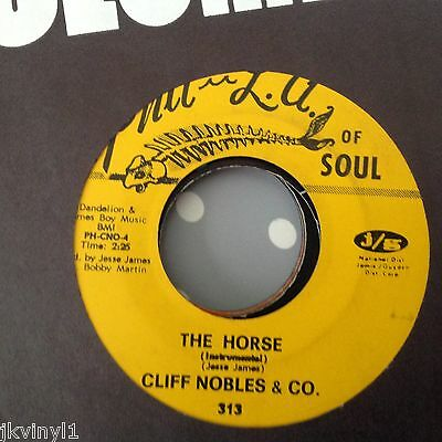 Cliff Nobles-The Horse/love Is All Right-Phil L.a Of Soul 313 . Vg++