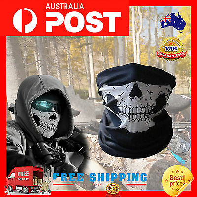 Hot Skull Bandana Bike Motorcycle Scarf Face Mask Ski Sport Headwear Neck