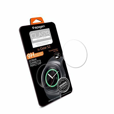 Gear S2 Screen Protector, Spigen® [Tempered Glass] Most Durable [Easy-Install W