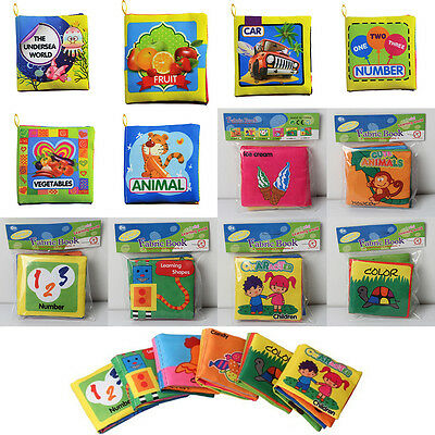 Cognize Toys Educational Kid Cloth Book Baby Early Learning Soft Intelligence