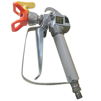 Airless Paint Spray Gun With Trade Tip High Pressure No Gas Sprayer 3600 PSI