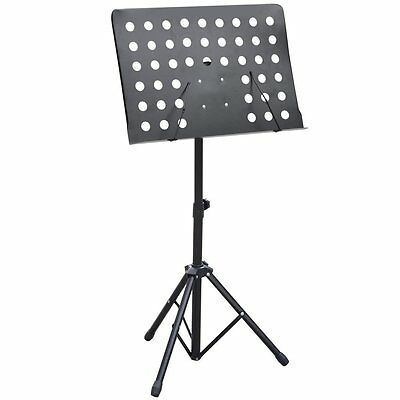 Heavy Duty Orchestral Sheet Music Stand Holder Height Adjustable Tripod Base