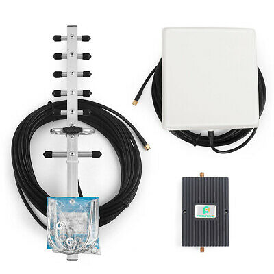 1700/2100MHz 70dB Cellphone Signal Repeater Amplifier 3G 4G LTE Booster Kit