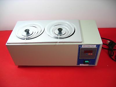 HH-2 Digital Lab Thermostatic Water Bath Two Double Holes Electric Heating 220V
