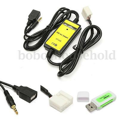 Car MP3 Player Radio Interface Aux-in USB Adapter For Honda Accord Civic Odyssey