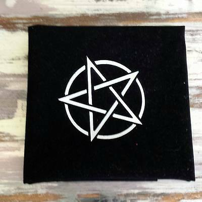 Large Black Tarot Cloth Altar Cloth Divination Wicca