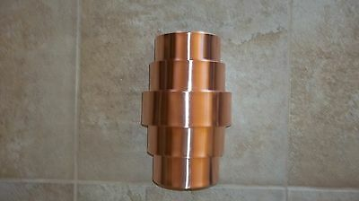Hand made crafted Copper Wall Sconce - Theater Light - Porch Light Fixture