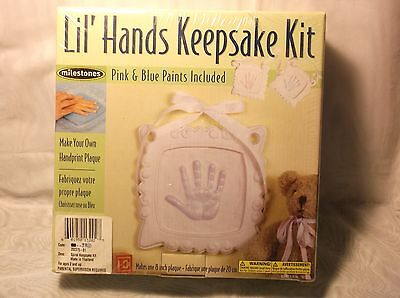 Milestones Keepsake Kit Lil Hands Spiral Keepsake Kit