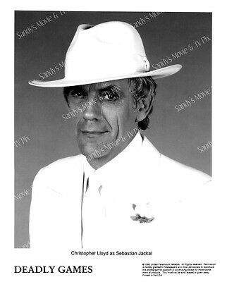 CHRISTOPHER LLOYD Terrific ORIGINAL TV Photo DEADLY GAMES