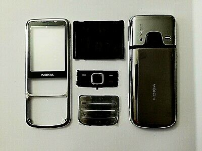 For Nokia 6700c 6700 Fascia Full Housing Back Cover Screen Lens Silver